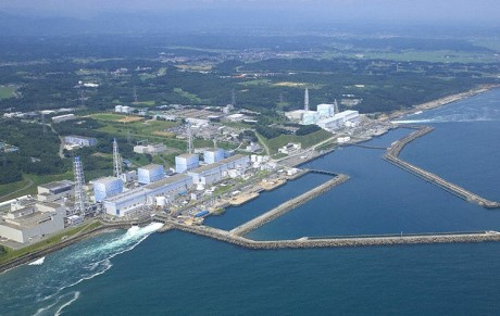 11 Mar 2011, Japan --- The picture shows an aerial-view of the Japanese nuclear power plant Fukushima Daiichi, Japan on 11 March 2011. After the earthquake the emergency care cooling system of the nuclear power plant is running on its backup batteries, which have only enough energy for a few more hours, according to the 'Society for Plant and Reactor Safety' (GRS) in Cologne, Germany with a reference to Japanese Information. The Japanese government evacuated thousands of residents as a measure of precaution. PHOTO: THE TOKYO ELECTRIC POWER COMPANY --- Image by © The Tokyo Electric Power Company/dpa/Corbis